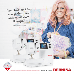 Bernina 4 series