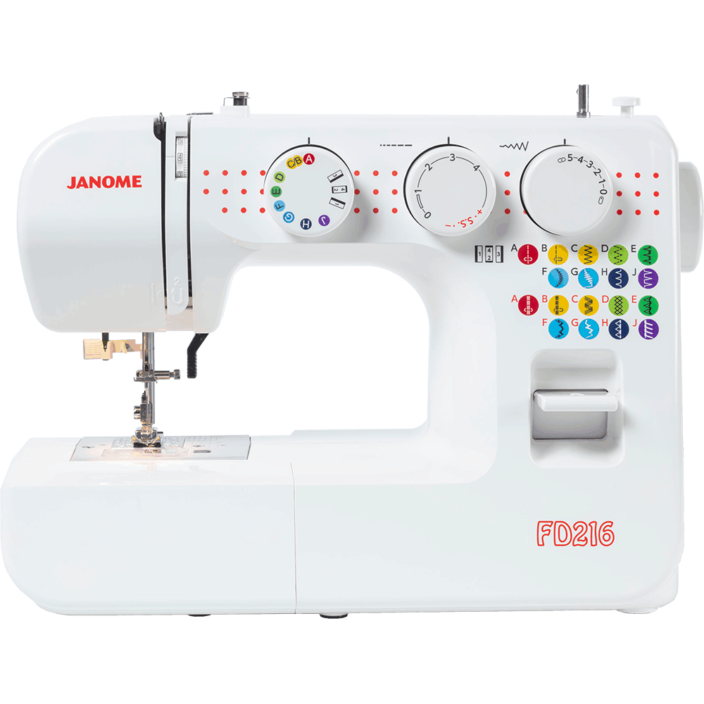 Janome FC216 + Bonus Attachable Pin Cushion