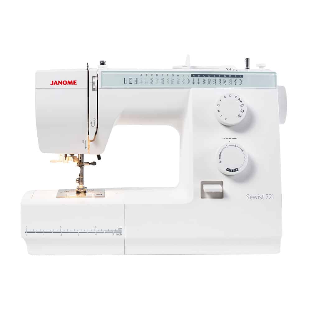 Janome Sewist 721 + Bonus Attachable Pin Cushion
